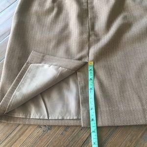 LOFT Skirts - Ann Taylor Loft size 2 ruffle pocket skirt